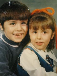 me and my brother many years ago
