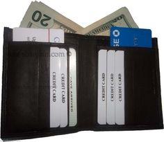 Women's Soft Leather Bifold Wallet 2 Billfold 12 Credit Card Lambskin Brown Item