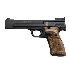 Smith&Wesson Model 41 .22 LR Blue/Wood 5.5BBL 10RD PistolLoading that magazine is a pain! Get your Magazine speedloader today! http://www.amazon.com/shops/raeind