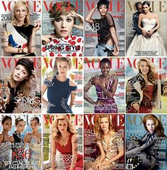 Vogue covers Every November I ask you which US Vogue cover has been your favourite of the year, and the results always surprise. Kim and Kanye. Holiday Fashion, Spring Fashion, Rihanna 2014, Amazing Amy, Happy New Years Eve, Kim And Kanye, Vogue Covers, Country Chic, Redheads