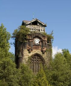 abandoned  Agecroft cemetery and crematorium is the most recent of its' kind in the Salford/ Manchester district. Built in 1903, it has to date, nearly 54,000 internments and since it opened in 1957 – almost 60,000 cremation services.  But lurking near the main entrances – almost hidden from view with all its' overgrowth is the Mortuary Chapel.