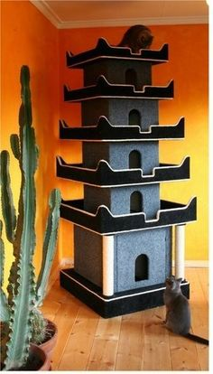 c for more Pagode.c for more The post Pagode.c for more appeared first on Katzen. Cat Castle, Diy Cat Tree, Cat Playground, Cat Shelves, Cat Enclosure, Cat Condo, Cat Room, Pet Furniture, Animal Projects
