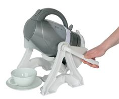 I haven't tried this, but it looks interesting. Homecraft Universal Kettle Tipper Disability Aid to Pour Safely