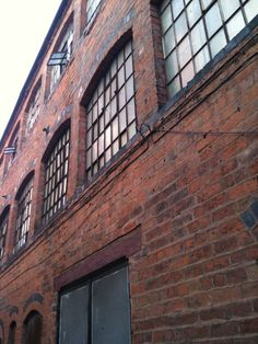 ~Old brick built industrial factory in the Jewellery quarter of Birmingham ♥ click down~