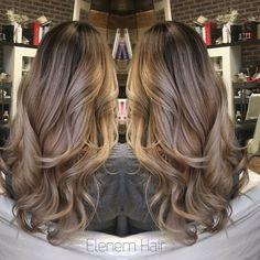 Blonde Balayage //rooty ash blonde