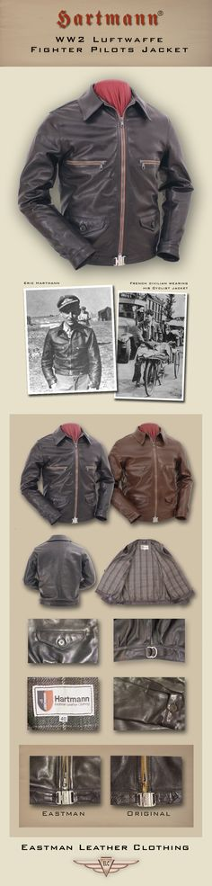 The Hartmann®. WWII Luftwaffe Fighter Pilots Jacket