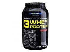 Whey Protein 3W Baunilha 900g - Proteína Isolada, Concentrada e Hidrolisada
