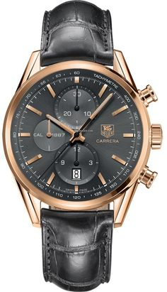 Discover a large selection of TAG Heuer Carrera Calibre 1887 watches on - the worldwide marketplace for luxury watches. Compare all TAG Heuer Carrera Calibre 1887 watches ✓ Buy safely & securely ✓ Men's Watches, Cool Watches, Fashion Watches, Watches For Men, Panerai Watches, Retro Watches, Dream Watches, Fashion Tag, Man Fashion