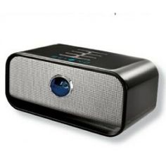 Black Brookstone Big Blue Live Wireless Bluetooth Speaker