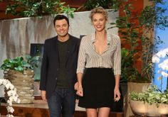 """Charlize Theron and Seth MacFarlane come by to talk about """"A Million Ways to Die in the West"""""""