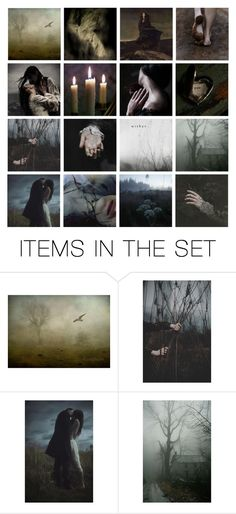 """""""Coming home to Wuthering Heights"""" by hedelmiina ❤ liked on Polyvore featuring art"""