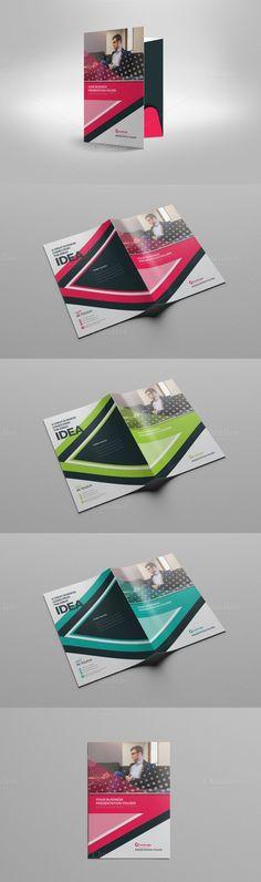 Presentation Folder. Stationery Templates. $7.00