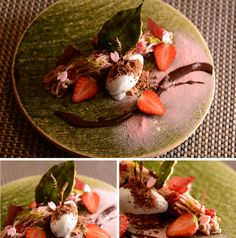 パティスリーオクサリスは岡山県倉敷市の洋菓子店です。厳選された食材で丁寧に作った洋菓子の他、カウンターでのみ味わえるシェフこだわりのアシェットデセールを提供しています。 Types Of Desserts, Sweet Desserts, Dessert Recipes, Japanese Appetizers, Dessert Presentation, Bingsu, Health Dinner, Dessert Bread, Sugar And Spice