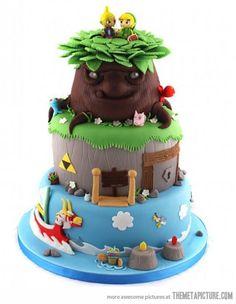 Amazing Legend of Zelda cake�