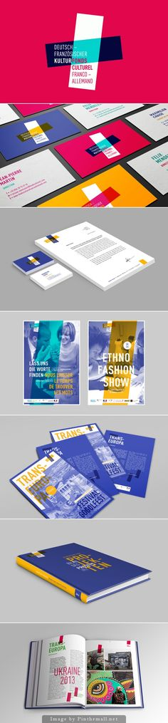 Franco-German Cultural Fund - Brand Identity - Graphéine