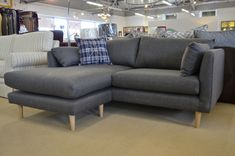 Ravello Corner Sofa by Rocha John Rocha Dark Grey Left or Right Handed Fabric
