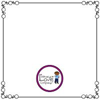Quick and Easy Square Product Covers video tutorial and FREE borders! ~Literacy Loves Company