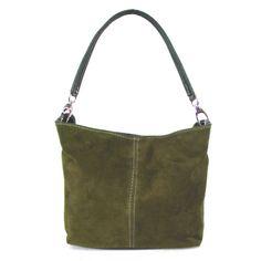 Monkeying About Ladies Handbag Suede Shoulder Bag Purse - Beige £17.95