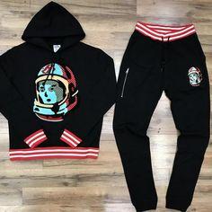 573c4e75d BILLIONAIRE BOYS CLUB SWEATSUIT 881-2301 BLACK Billionaire Boys Club,  Athletic Wear, Graphic