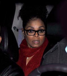 #JanetJackson #glasses #accessories