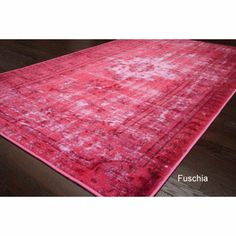 Rug Collective Vintage Inspired Overdyed Rug | Overstock.com