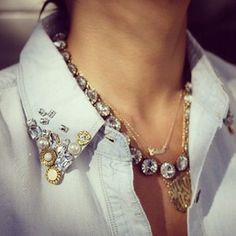 embellished collars