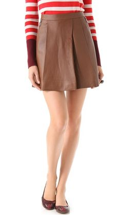 Sergeant Leather Skirt