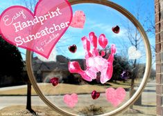 Handprint Suncatcher