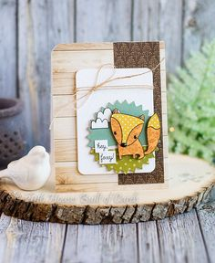 Houses Built of Cards: Hey Foxy - SSS/Reverse Confetti STAMPtember Stamp Set