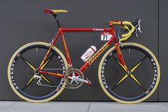 Adam Pelzer has left nothing to chance on this version of a Cipollini Caad 4 Saeco Cannondale