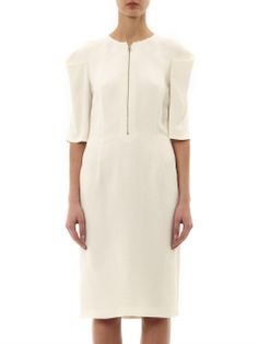 Calandra snake-jacquard dress   Stella McCartney   MATCHESFASH...
