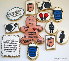 ah, divorce/ break up cookies!