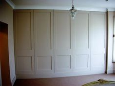 This is the Shaker cabinet door design i want for our master wall wardrobe! Cupboard Design, Cupboard Storage, Wardrobes, Wardrobe Cabinets, Hallway Storage, Wardrobe Storage, Painted Wardrobe, Build A Closet, Cabinet