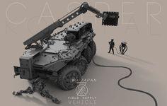 ArtStation - 新しい japan / 象 / Field supply MRAP, Casper Konefal