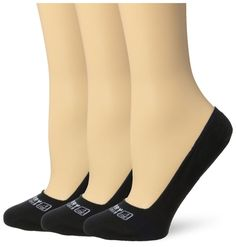 Sperry Women'S 3 Pack Signature No Show Liner Socks, Black, Small/Medium #Sperry #Invisible