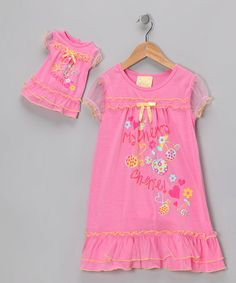 Take a look at this Pink  Cherie  Nightgown   Doll Outfit - Toddler   bb7eb15a4