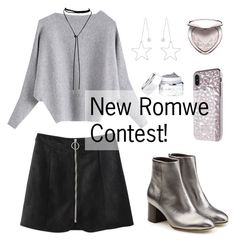 """New Romwe Contest in My Group!"" by dora04 ❤ liked on Polyvore featuring rag & bone and Too Faced Cosmetics"