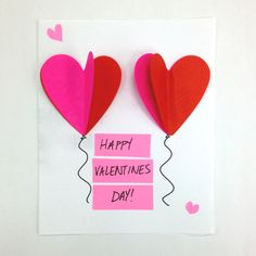 Craft a card for your special someone this Valentine's Day.