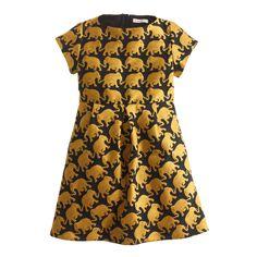 J. Crew Girls Elephant Dress