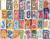 Nodig:  -wit papier A5 formaat  -verf of stiften   Geef alle kinderen een papier en de opdracht een letter van het alfabet te maken. Het b...