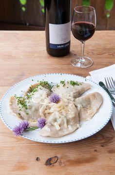 Original Südtiroler Schlutzkrapfen - Rezept   Mein schönes Land bloggt