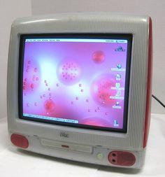 Apple iMac G3 Computer.