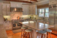 Sullivan's Island Gigi House panelling shiplap cottage details kitchen