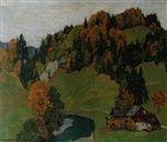Gehöft in Herbstlandschaft by Emile Cardinaux on artnet