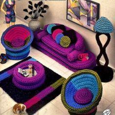 Crochet Doll House Furniture