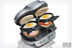 朝食サンドイッチメーカーで美味しい朝を迎えよう!