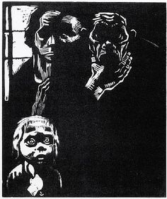 Kathe Kollowitz--one of my biggest influences. Saw her art @ Minneapolis Institute of art in high school and cried. Love.
