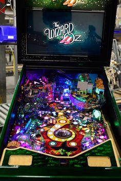 wizard of oz pinball machine - Google Search
