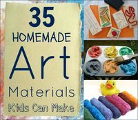 DIY art and craft materials to make with your kids!