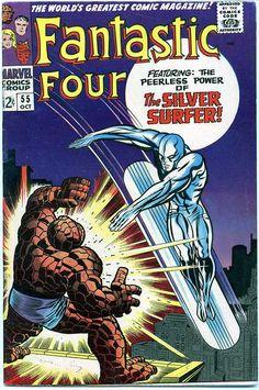 geoffreyscomics:  Fantastic Four #55 by Jack Kirby